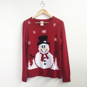 Other - Frosty the Snowman Christmas Sweater Kids Large